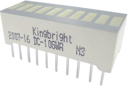 LED-Bargraph 10fach Grün/Rot (B x H x T) 25.4 x 10.16 x 8 mm Kingbright DC-7G3EWA