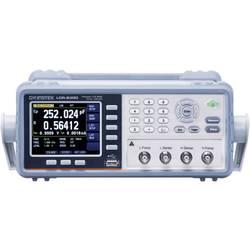 Digitálne/y skúšačka elektronických komponentov GW Instek LCR-6002 LCR-6002 DAkkS, Kalibrované podľa (DAkkS)