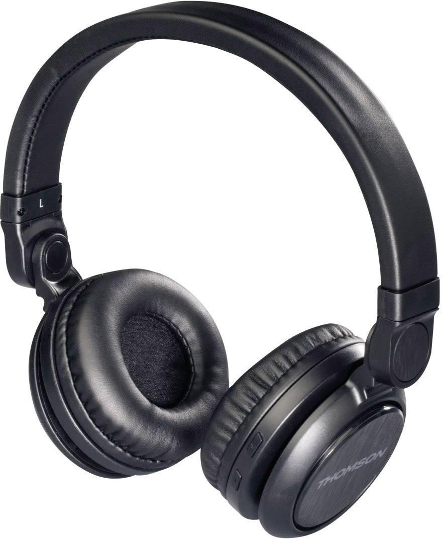 thomson whp 6007 b bluetooth kopfh rer on ear headset. Black Bedroom Furniture Sets. Home Design Ideas
