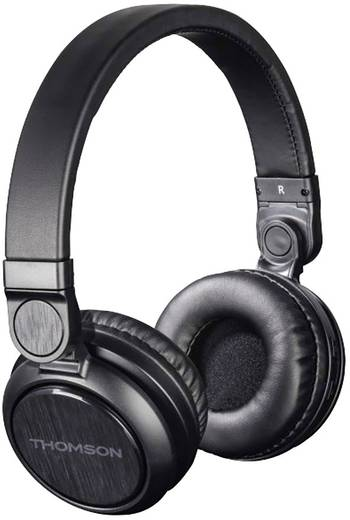 bluetooth kopfh rer thomson whp 6007 b on ear headset. Black Bedroom Furniture Sets. Home Design Ideas