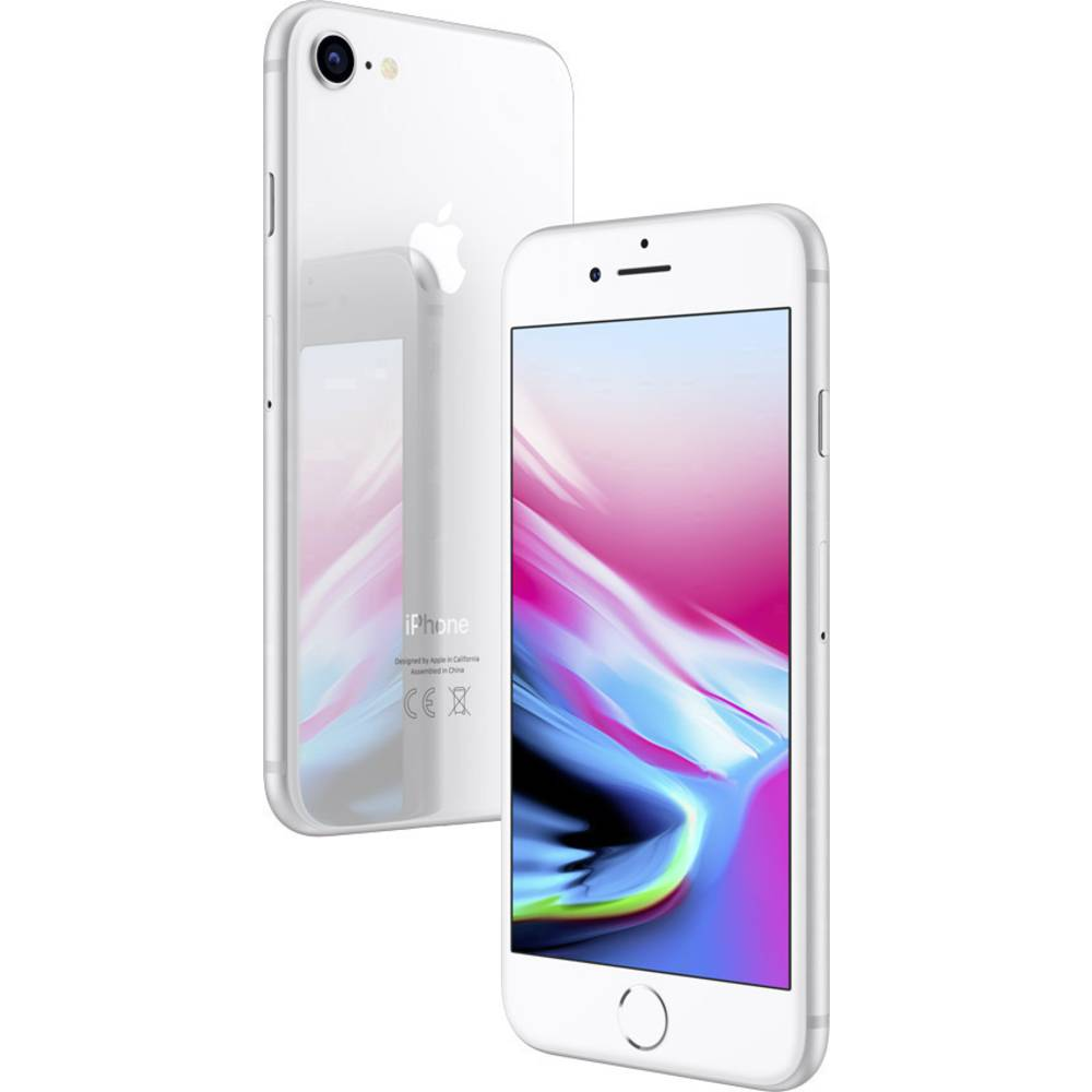 apple iphone 8 256 gb silver from conrad electronic uk. Black Bedroom Furniture Sets. Home Design Ideas