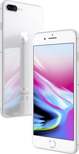 apple iphone 8 plus 64 gb silber kaufen. Black Bedroom Furniture Sets. Home Design Ideas
