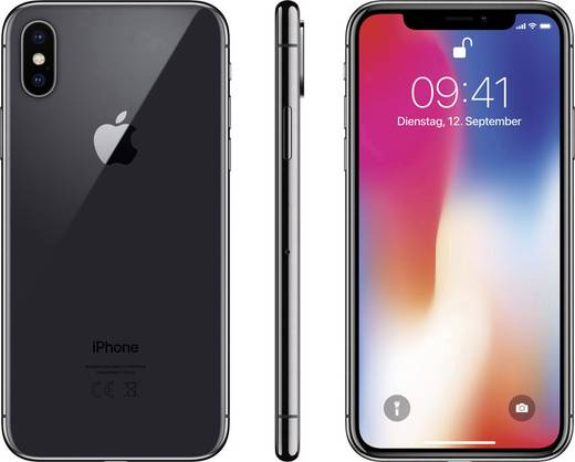 Apple Iphone X 64 Gb Spacegrau Kaufen