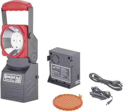Lampada da lavoro, Lampada portatile a batteria AccuLux 456441 Nero/Rosso LED 75 h
