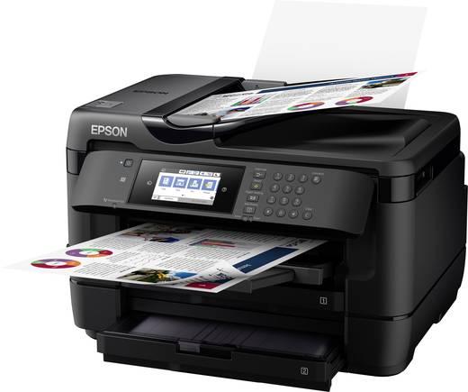 epson workforce wf 7720dtwf tintenstrahl multifunktionsdrucker a3 drucker scanner kopierer. Black Bedroom Furniture Sets. Home Design Ideas