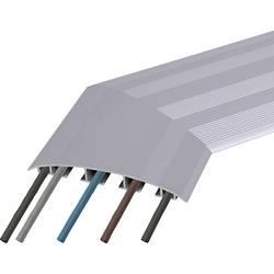 Podlahová kabelová lišta Bachmann 2707353, Winkelelemnet 45°, 1 ks, hliník (eloxovaný)