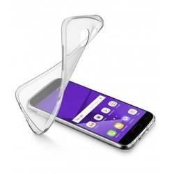 Zadný kryt na mobil Cellularline SOFTGALJ317T, vhodný pre: Samsung Galaxy J3 (2017), priehľadná