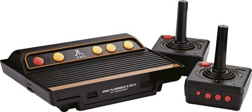 Retro Konsole Atari Flashback 8 Gold HD inkl. 2 Wireless Controller