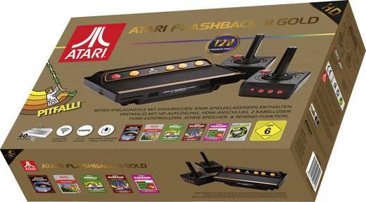 Atari Flashback 8 Gold HD Retro Konsole inkl. 2 Wireless Controller