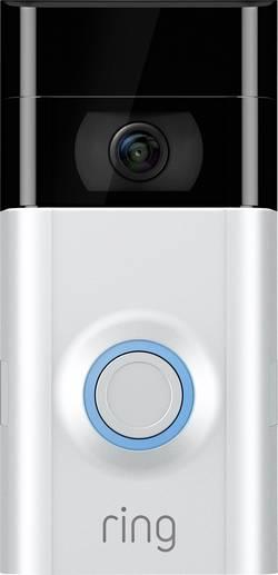 Domovní IP/video telefon ring 8VR1S7-0EU0 s Wi-Fi, venkovní jednotka, pro 1 rodinu, saténovo-niklová
