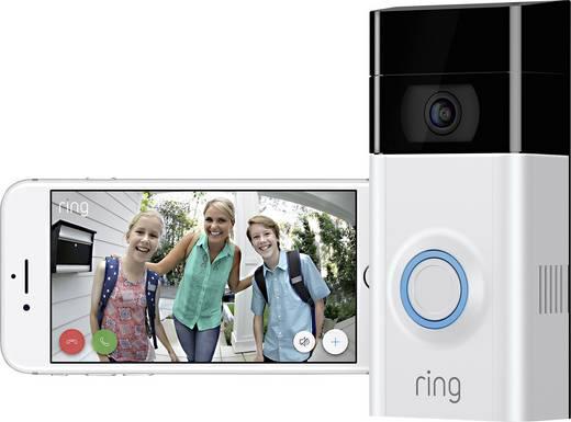 IP-Video-Türsprechanlage WLAN Außeneinheit ring 4462222 1 Familienhaus Satin-Nickel