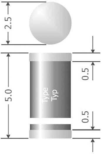 Ultraschnelle Si-Gleichrichterdiode Diotec SUF4001 DO-213AB 50 V 1 A