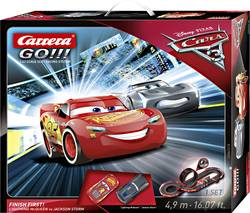 Autodráha, štartovacia sada Carrera Disney Cars 3 Finish First 20062418, druh autodráhy GO!!!