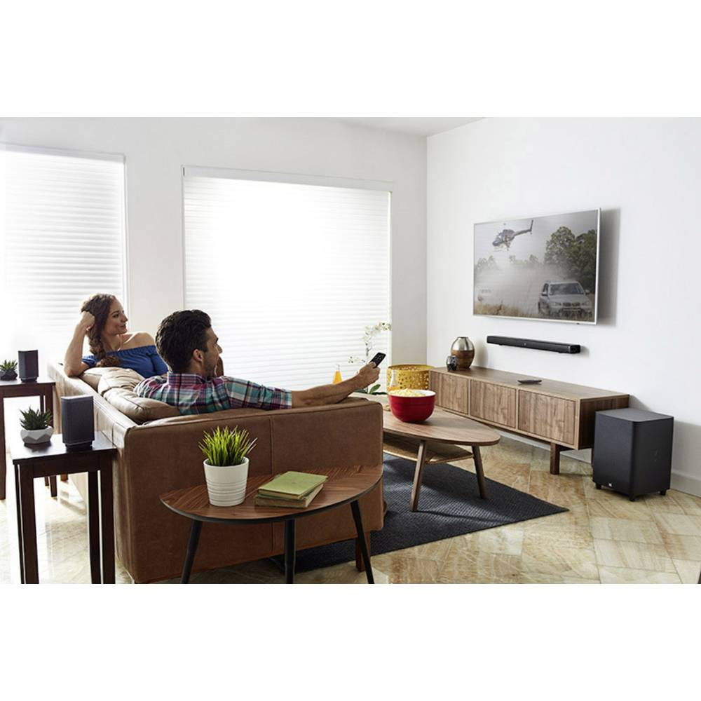 barre de son bluetooth avec subwoofer sans fil fixation murale jbl bar 5 1 sur le site. Black Bedroom Furniture Sets. Home Design Ideas