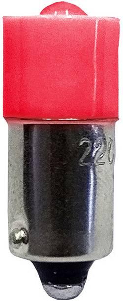 Ampoule LED Culot: BA9s Barthelme 53120411 rouge 12 V/DC, 12 V/AC 1 pc(s)