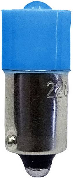 Ampoule LED Culot: BA9s Barthelme 53120514 bleu 24 V/DC, 24 V/AC 1 pc(s)