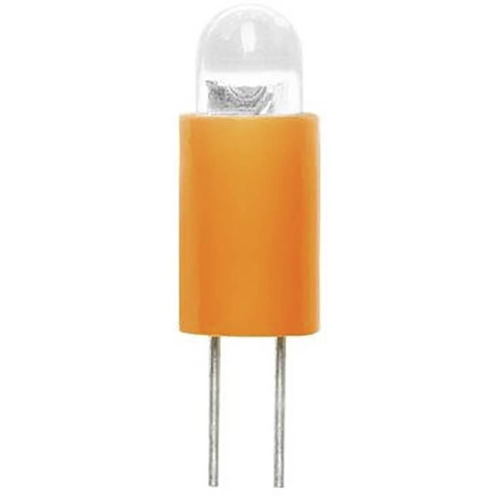 Barthelme LED-Lampe BiPin 3.17 mm Gelb 6 V/DC 70117122 im Conrad ...