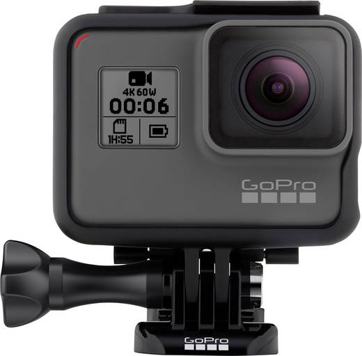GoPro HERO 6 Action Cam 4K, Wasserfest, WLAN