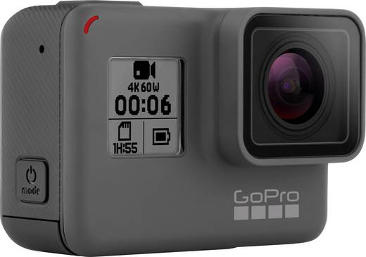 Action Cam GoPro HERO 6 Black 3660-055 4K, Wasserfest, WLAN