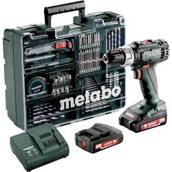 Aku príklepová vŕtačka Metabo SB 18 L 602317870, 18 V, 2 Ah, Li-Ion akumulátor