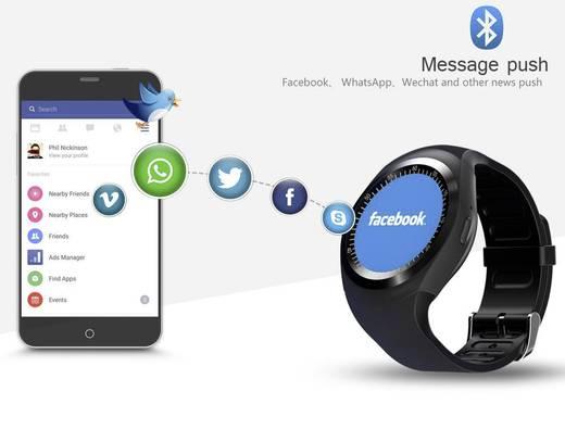 Smartwatch TrendGeek TG-SW1 3 cm 1.2 Zoll Schwarz