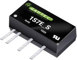 Convertisseur CC/CC pour circuits imprimés Gaptec 1S7E_1224S1.5UP 10070429 12 V/DC 24 V/DC 42 mA 1 W Nbr. de sorties: 1