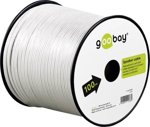 Lautsprecherkabel 2 x 4 mm² Goobay 67742 25 m
