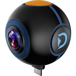 Prídavná kamera Discovery Adventures HD 720P 720° Android Action Camera Spy, čierna
