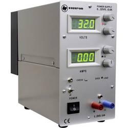 Laboratórny zdroj s nastaviteľným napätím Statron 3231.10, 0 - 32 V, 0 - 6.4 A, 204.8 W
