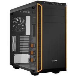 PC skrinka midi tower BeQuiet Pure Base 600, čierna, oranžová