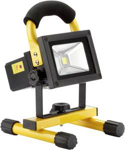 Image of Ampercell 09100 Arbeitsleuchte COB 10 W Schwarz-Gelb LED 3 h