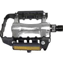 Image of M-Wave 311322 Pedale 420 g Schwarz, Silber
