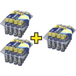 Mikrotužková batérie typu AAA alkalicko-mangánová Varta Energy, Kauf 3 Sets - zahl 2,, 1.5 V, 72 ks