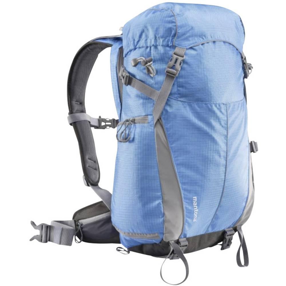 sac dos pour appareil photo mantona outdoor bleu compartiment pour tablette housse anti pluie. Black Bedroom Furniture Sets. Home Design Ideas