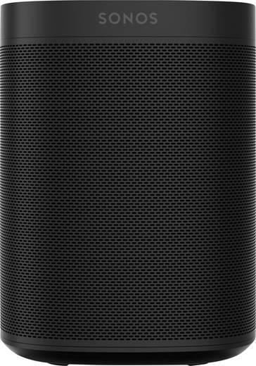 Multiroom Lautsprecher Sonos One WLAN Freisprechfunktion Schwarz
