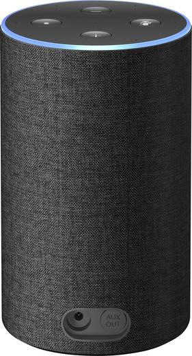 sprachassistent amazon echo 2nd generation anthrazit kaufen. Black Bedroom Furniture Sets. Home Design Ideas