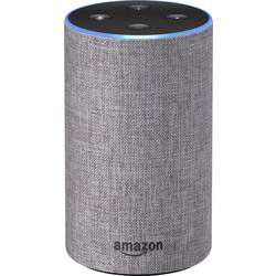 Image of amazon echo 2nd Generation Sprachassistent Hellgrau