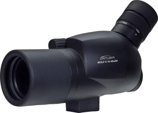 Zoom spektiv danubia 15 45 x 50 mm schwarz