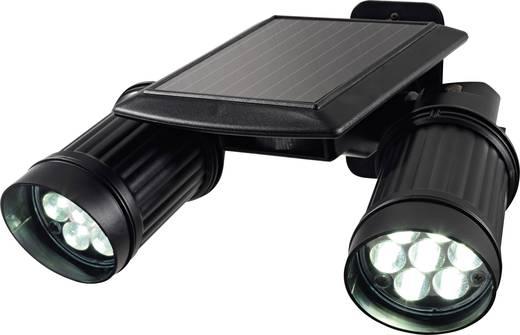 easymaxx security solar au enstrahler mit bewegungsmelder 08434 schwarz led fest eingebaut kaufen. Black Bedroom Furniture Sets. Home Design Ideas
