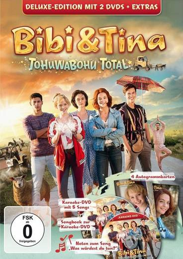 Dvd Bibi Tina Tohuwabohu Total Fsk 0 Kaufen