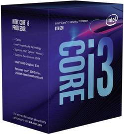 Processeur (CPU) Boxed Intel Core i3 (i3-8100) 4 x 3.6 GHz Quad Core Socket: Intel® 1151v2 65 W