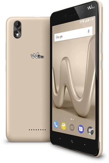WIKO Lenny 4 Plus Smartphone Dual-SIM 16 GB 14 cm (5.5 Zoll) 8 Mio. Pixel Android™ 7.0 Nougat Gold