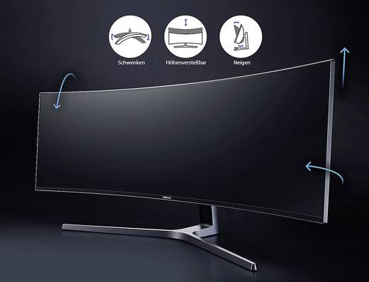 Samsung C49HG90DMU LED-Monitor 124.5 Cm (49 Zoll) EEK B