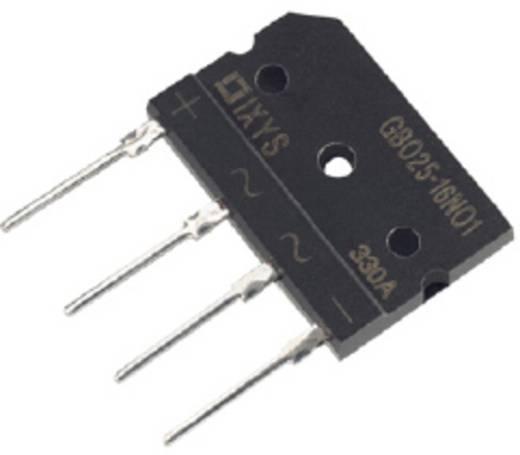 Brückengleichrichter IXYS GBO25-16NO1 SIP-4 1600 V 25 A Einphasig