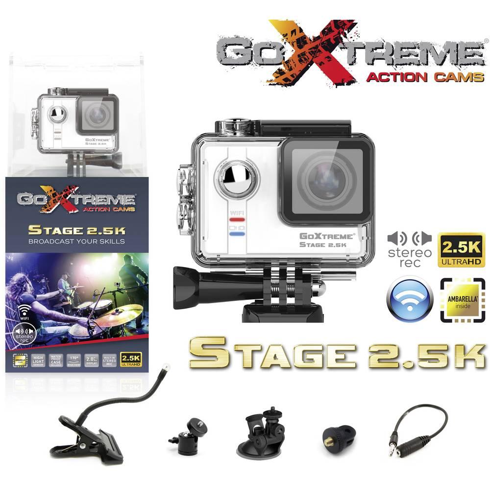 action cam goxtreme stage 2 5k 20118 stereo sound. Black Bedroom Furniture Sets. Home Design Ideas