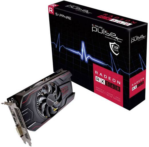 Grafikkarte Sapphire AMD Radeon RX 560 Pulse 2 GB GDDR5