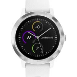 Smart hodinky Garmin vivoactive 3 white M/L