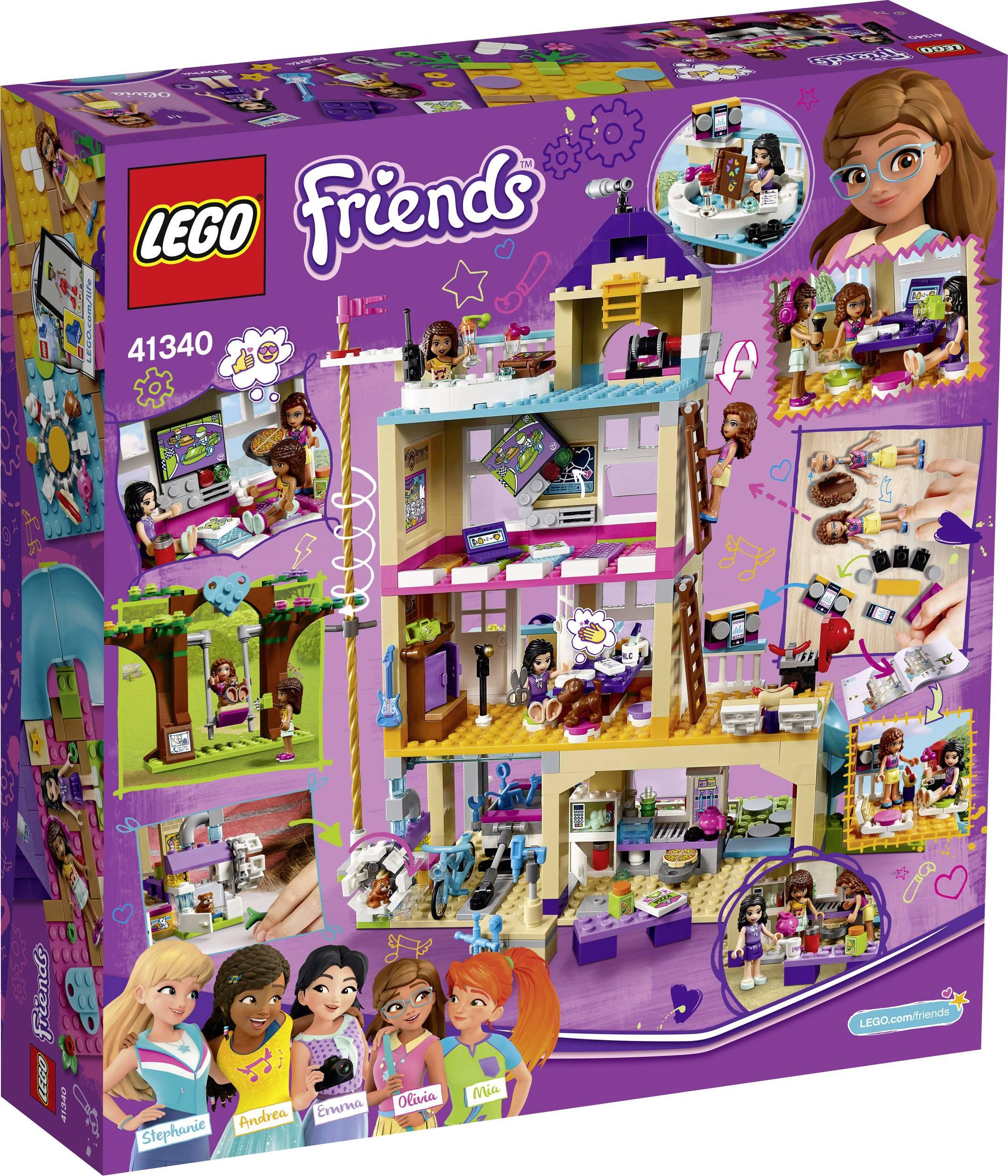 Afholte LEGO® FRIENDS 41340 Freundschaftshaus kaufen WY-96