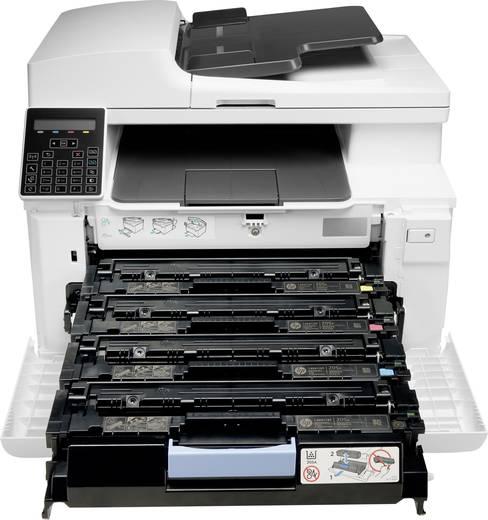 HP Color LaserJet Pro MFP M181fw Farblaser-Multifunktionsdrucker A4 Drucker, Scanner, Kopierer, Fax LAN, WLAN, ADF