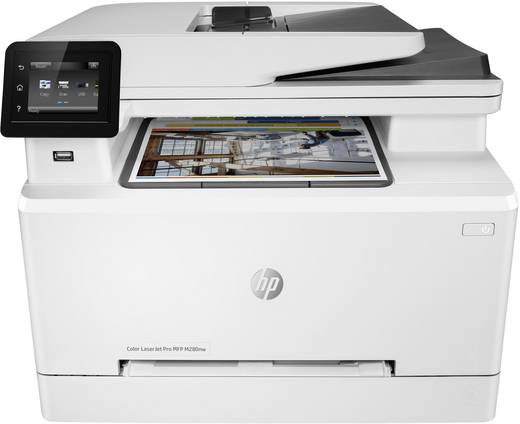 HP Color LaserJet Pro MFP M280nw Farblaser-Multifunktionsdrucker A4 Drucker, Scanner, Kopierer LAN, WLAN, ADF